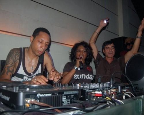 Dj Spen & Barbara Tucker & DJ Pippi at Junction 2008
